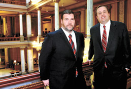 Attorneys Paul Jefferson and Mark Crandley