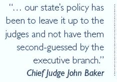 Chief Judge John Baker