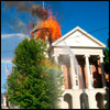 Jefferson County Courthouse Fire